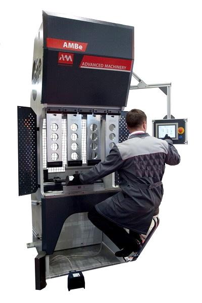 гибочный пресс для листобработки ambe-900с